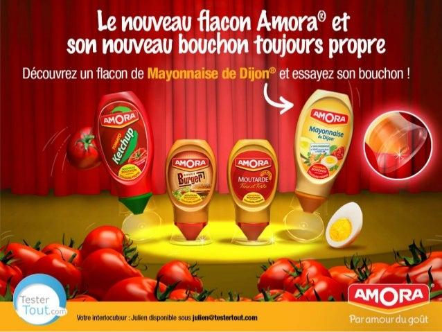 Nouveau bouchon Amora - Mini-guide - campagne @TesterTout