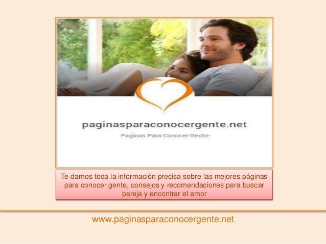 Pagina para conocer parejas gratis
