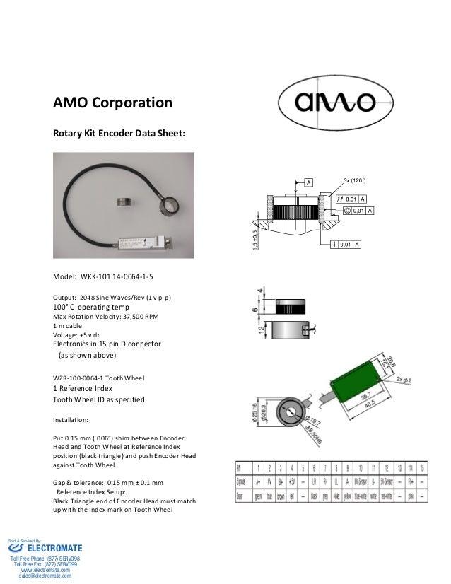 AMO Rotary Kit Encoder
