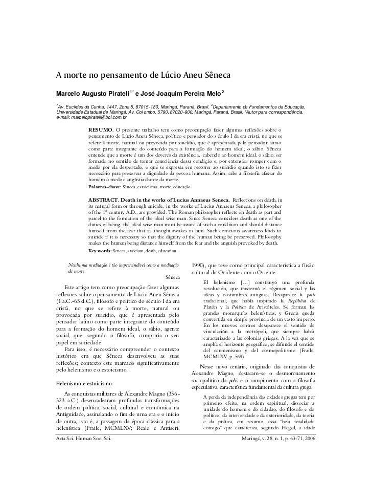 Marcelo Augusto Pirateli 1* e José Joaquim Pereira Melo 21 Av. Euclides da Cunha, 1447, Zona 5, 87015 -180, Maringá, Paran...