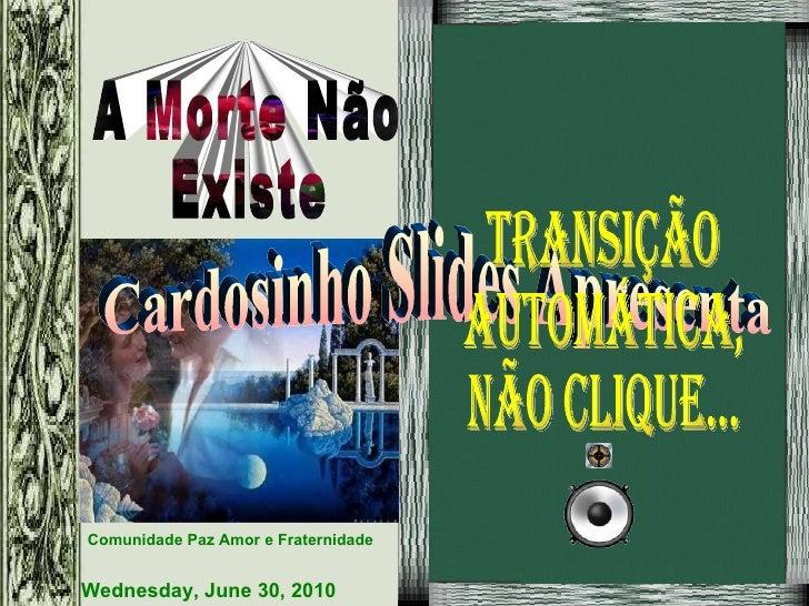 Cardosinho Slides Apresenta Transição Automática, Não Clique...