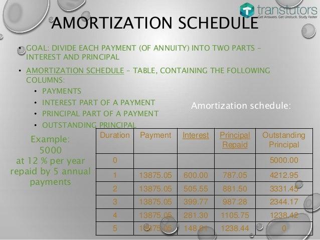 amortization loan