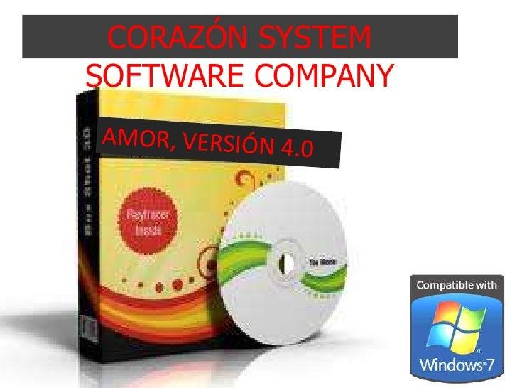 CORAZÓN SYSTEMSOFTWARE COMPANY