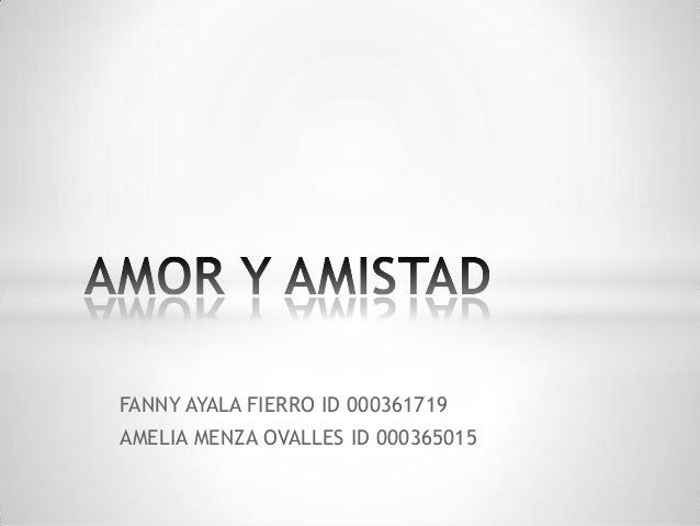FANNY AYALA FIERRO ID 000361719 AMELIA MENZA OVALLES ID 000365015