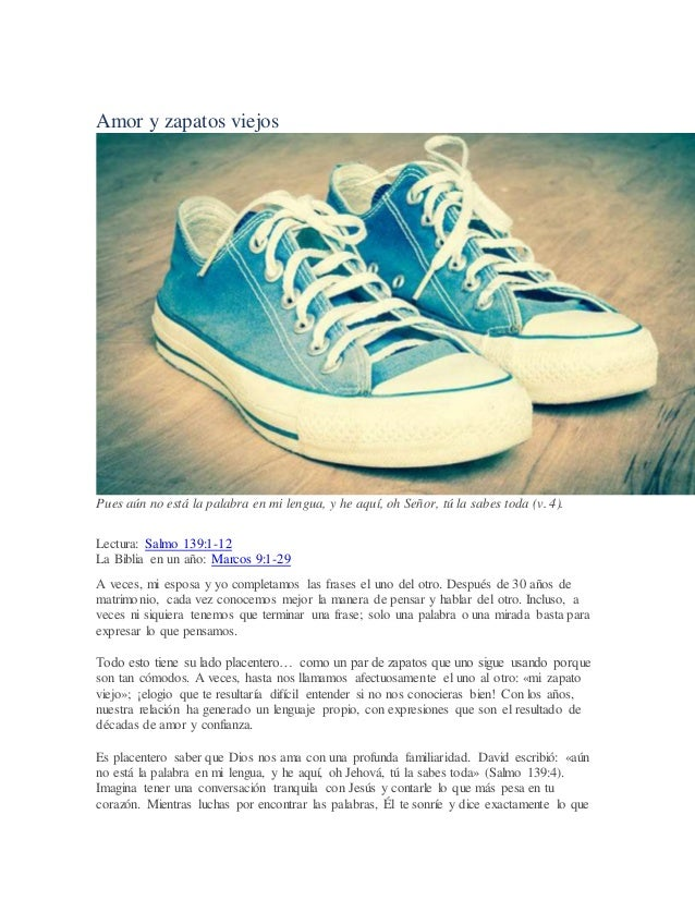 Amor Y Zapatos Viejos