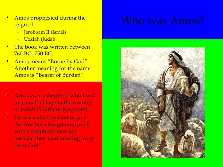 relationship of the messages of amos and Social ethics in the prophets  that suggests that there is a close relationship between all the  amos was perhaps the earliest of these calls to the.