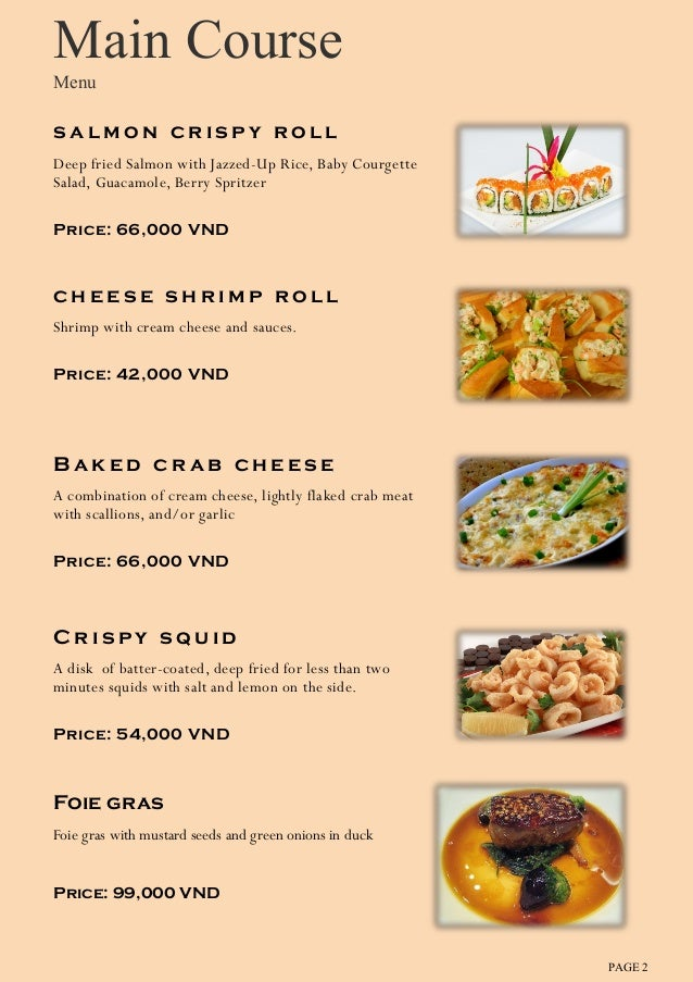 Image Result For Spanish Main Courses List