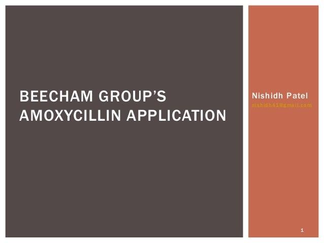 Amoxicillin patent case
