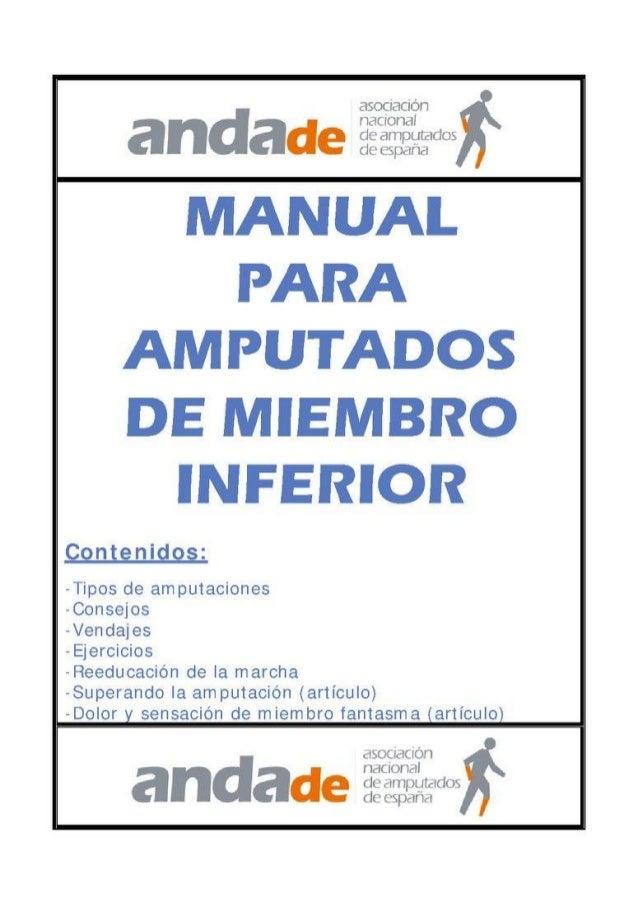 Manual para Amputados MM/II