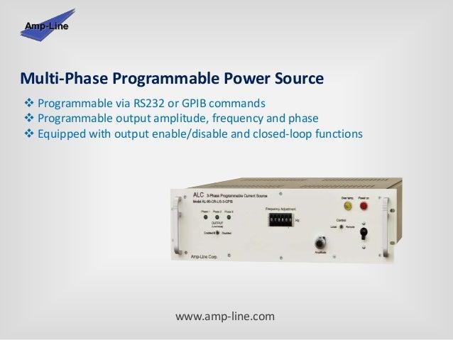 Amp-Line Corp  - Manufacturer Of Linear Power Supplies & Power Ampli…