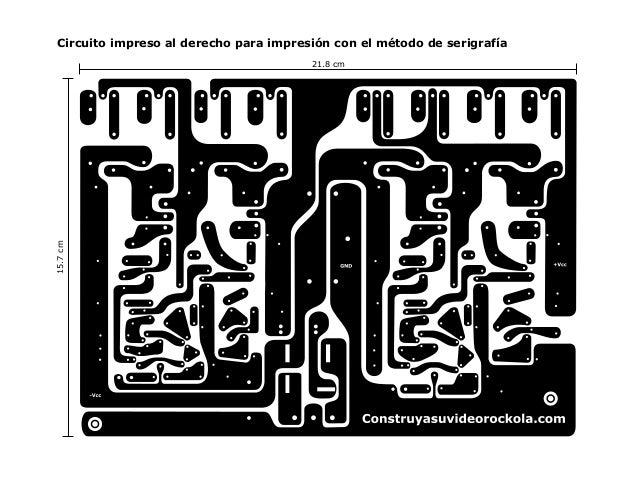 Circuito Impreso De Amplificador De 3000w : Amp w st