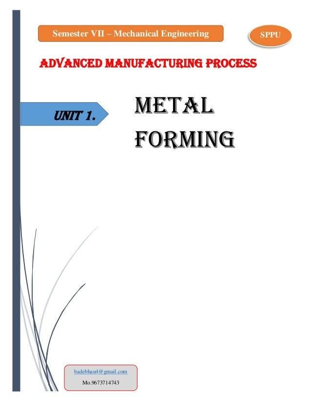 Nptel Vi Advanced Manufacturing Processes — Rulmeca Germany