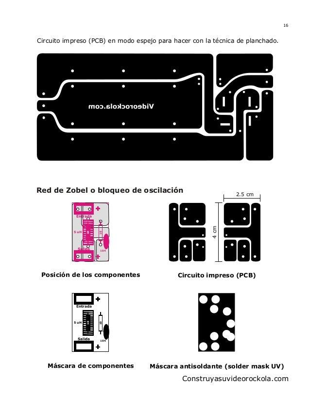 Circuito Impreso De Amplificador De 3000w : Amp espectrum