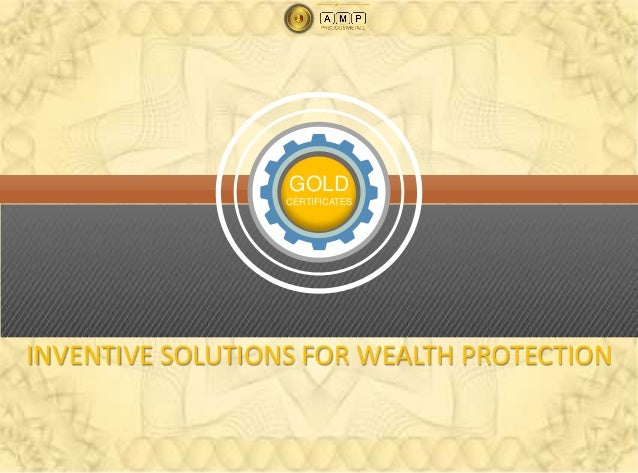 What doesa gold certificatemean to you?