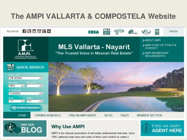 The AMPI VALLARTA & COMPOSTELA Website2/21/2013                            1