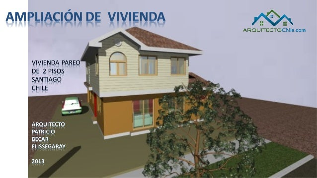 Mansarda ampliacion de vivienda pareada - Planos de casas pareadas ...