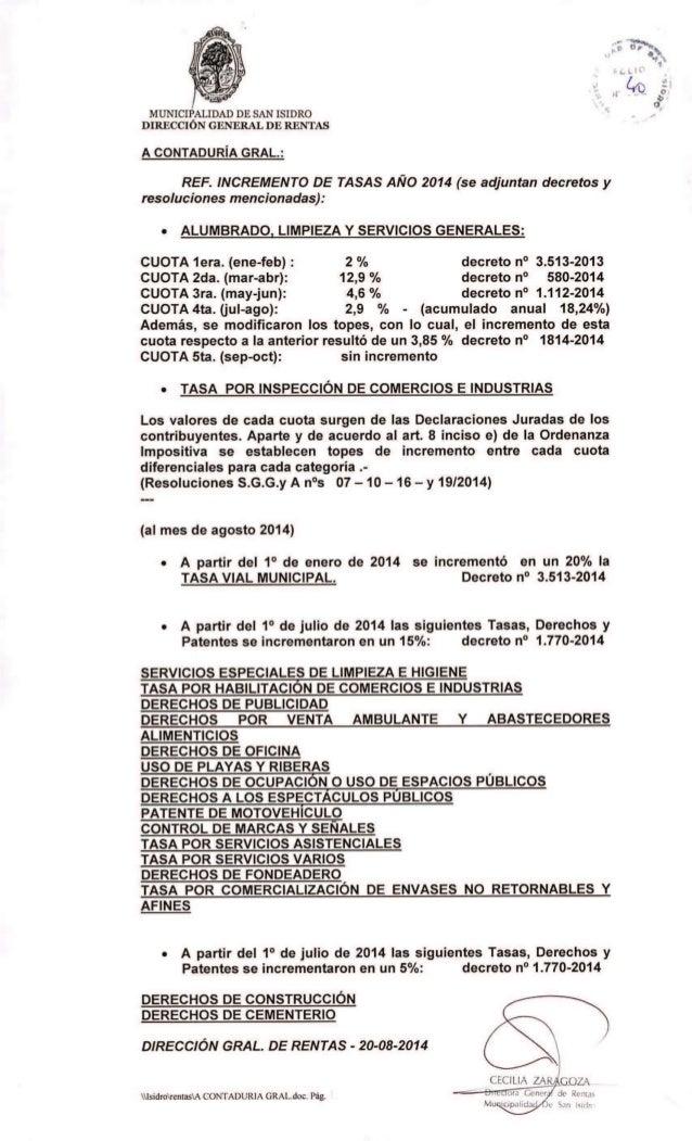 Proyecto de ampliacion del presupuesto 2014 de san isidro for Presupuesto de limpieza de oficinas