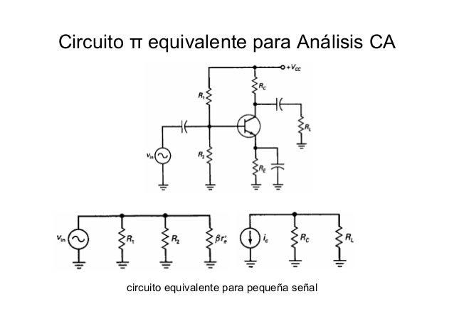 Circuito Xor Equivalente : Amplificación transistor