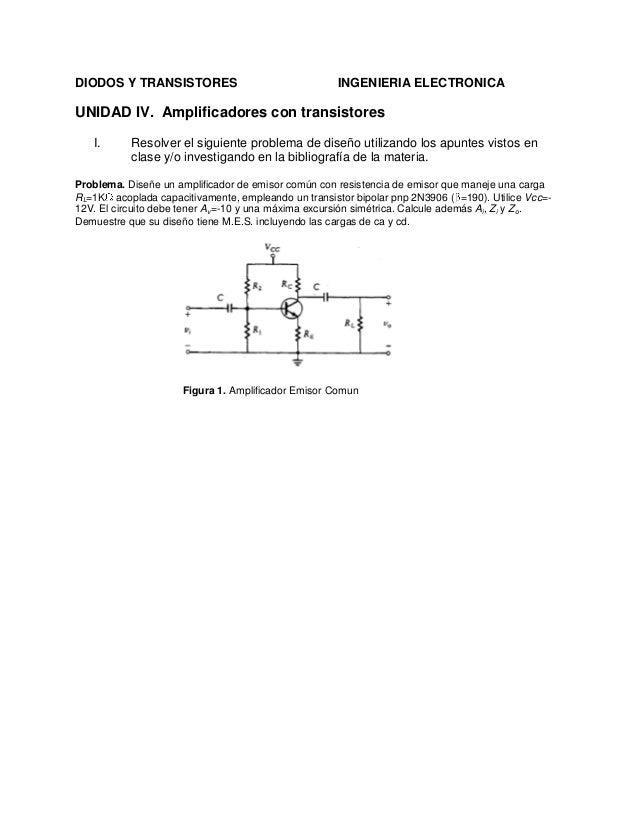 Amplificador bjt emisor comun (voltaje negativo) Slide 2