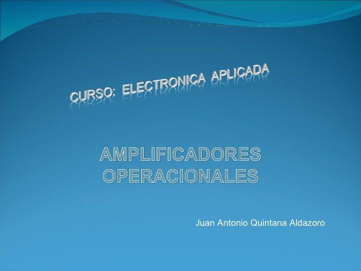 Juan Antonio Quintana Aldazoro