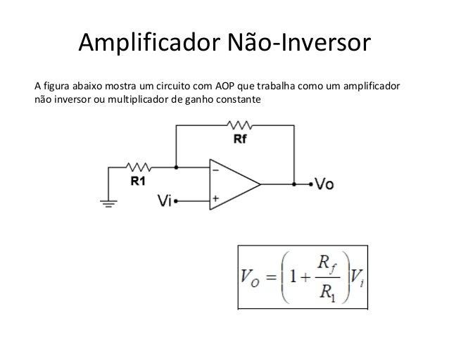 Circuito Operacional : Amplificador operacional