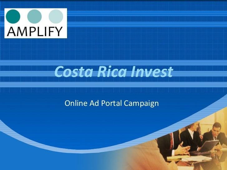 Costa Rica Invest Online Ad Portal Campaign