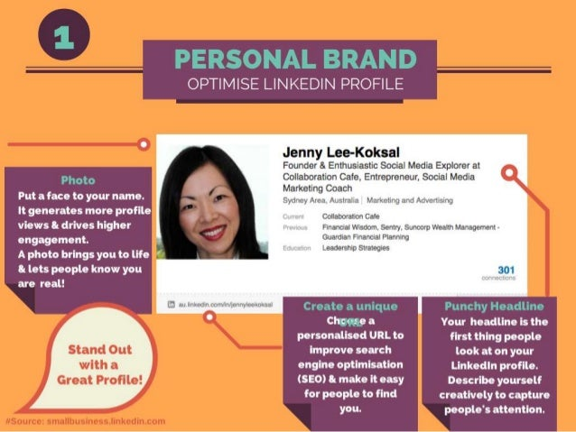 Let's get Connected: Jenny's LinkedInProfile