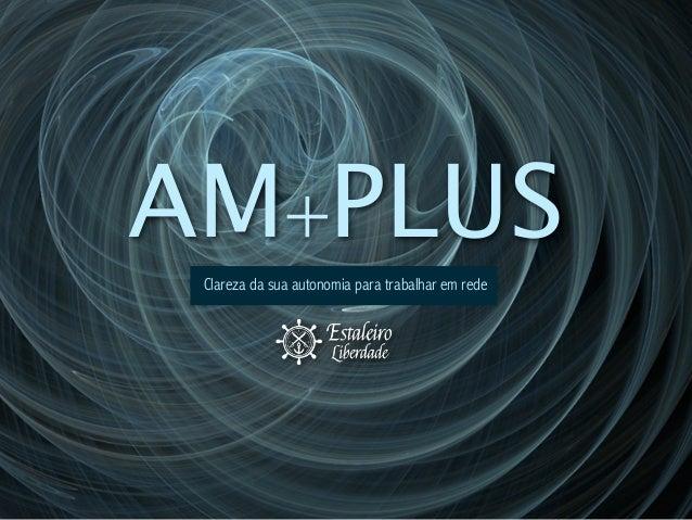 AM+PLUS Clareza da sua autonomia para trabalhar em rede