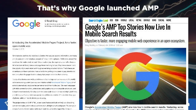 #SMX #14A @aleyda That's why Google launched AMP