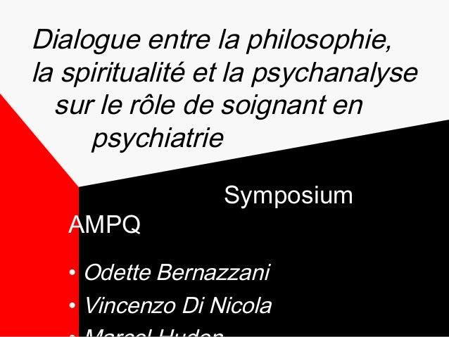 Philosopher en clinique : Aider le patient à naviguer entre sens et signification - AMPQ - La Malbaie, Québec - 4 juin 2014 Slide 2