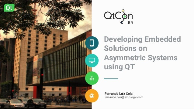 Building a QT based solution on a i MX7 processor running