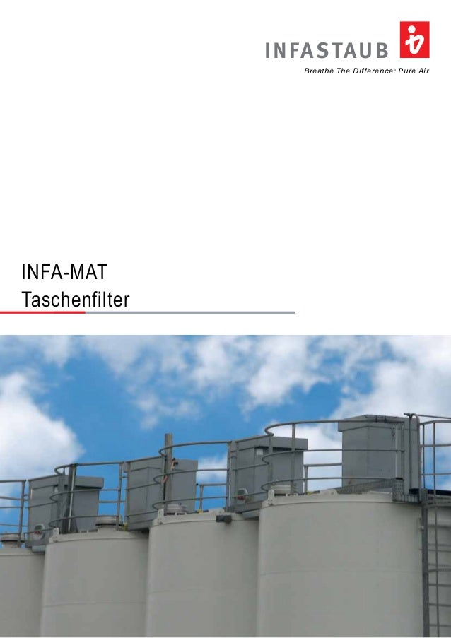 Breathe The Difference: Pure Air INFASTAUB INFA-MAT Taschenfilter