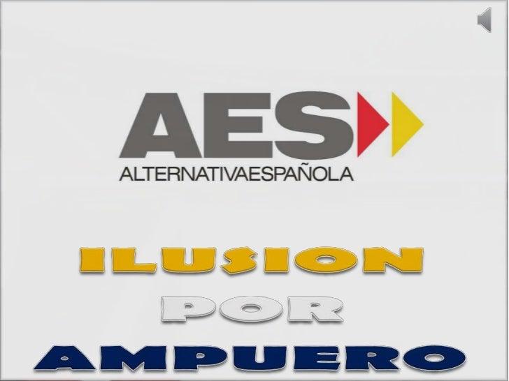 ILUSION<br />POR<br />AMPUERO<br />