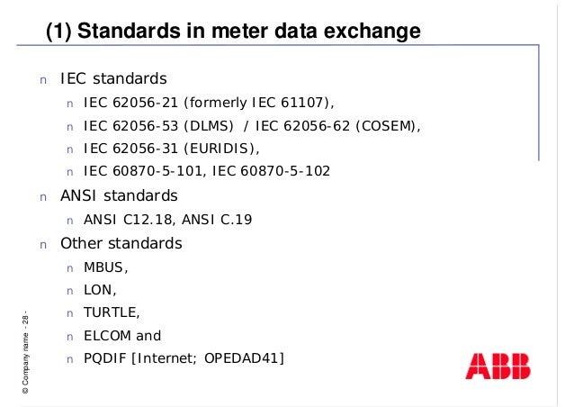 ANSI-C12-18 | Osi Model | Communications Protocols