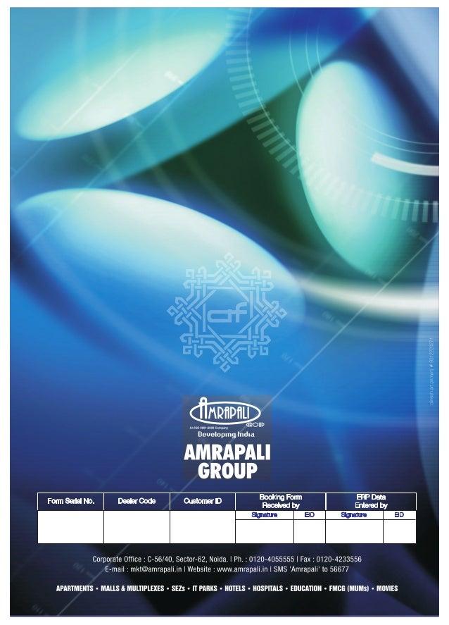 Amrapali verona heights application form