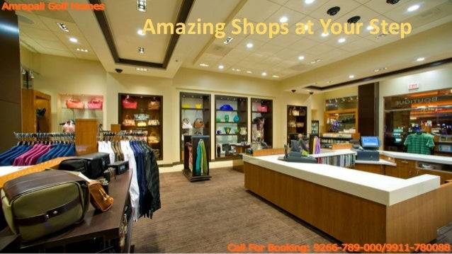 Amazing Shops at Your Step