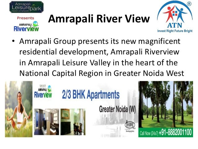 Amrapali River View • Amrapali Group presents its new magnificent residential development, Amrapali Riverview in Amrapali ...