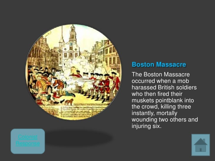 an introduction to the analysis of the boston massacre in the united states The boston massacre began the evening of march 5, 1770 with a small argument between british private hugh white and a few colonists outside the custom house in boston on king street the argument began to escalate as more colonists gathered and began to harass and throw sticks and snowballs at private white.