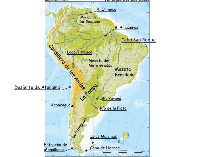 Desierto De Atacama Mapa America.America