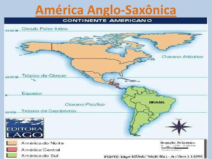 América Anglo-Saxônica<br />