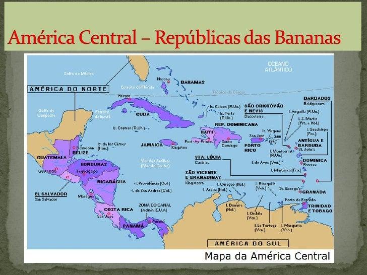  Banhada pelo Oceano Atlântico e Mar do  Caribe. Continental – Ístmica Insular Região com atividades financeiras – Par...