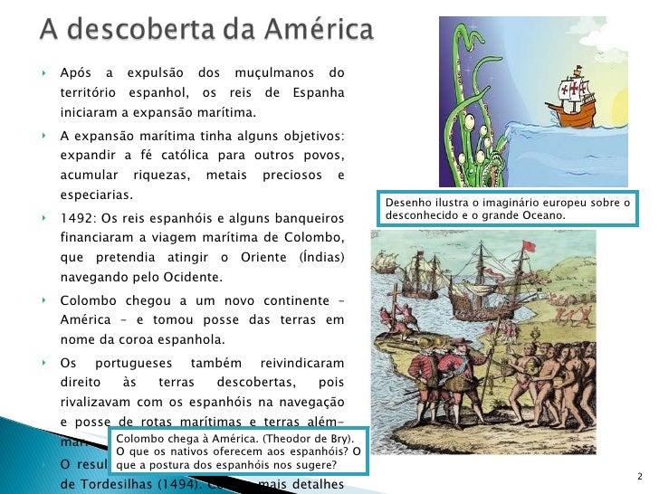 América espanhola e inglesa Slide 2