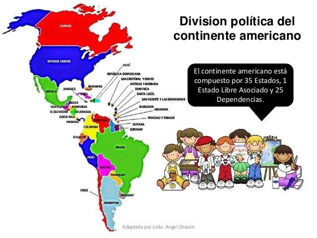 Uebli am rica latina nuestra regi n bloque 5 quinto de b sica - Continente y contenido ...