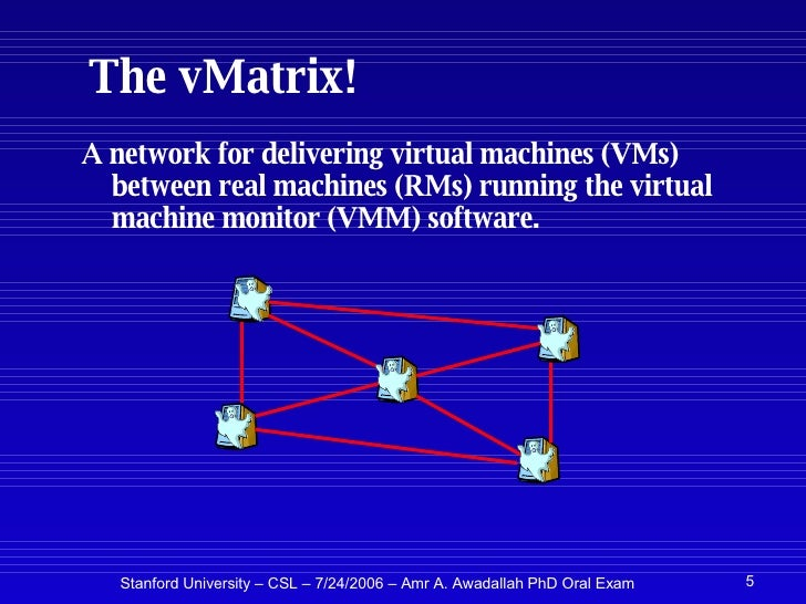 Applications of Virtual Machine Monitors for Scalable, Reliable, and …
