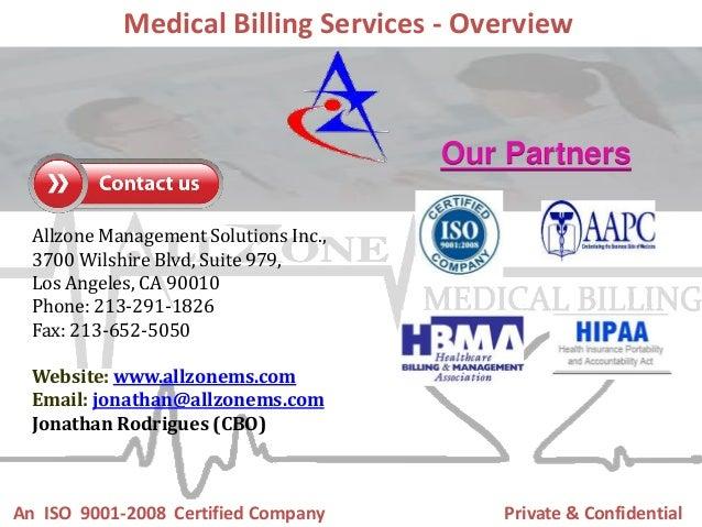 Allzone management solutions medical billing slideshare