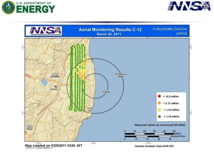 NNSA's Consequence Management Response Teams have collected thousands of ground measurements that were provided by DOE, Do...