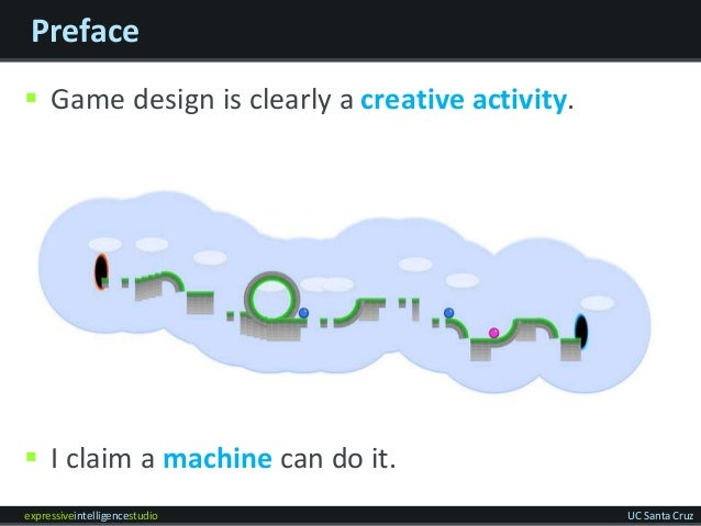 The intelligent game designer: Game design as a new domain for automated discovery Slide 3