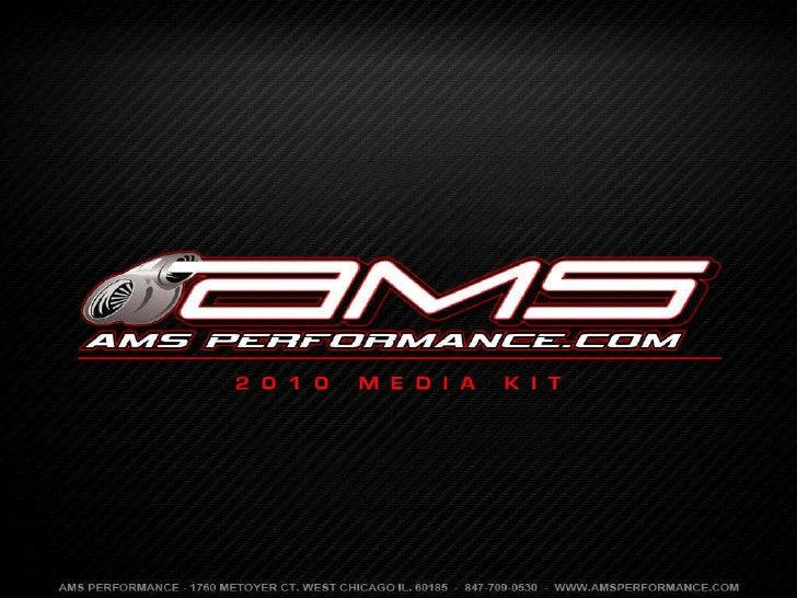 Ams Performance 2010 Media Kit
