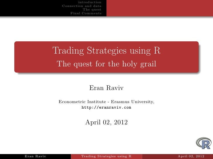 Backtesting trading strategies 4