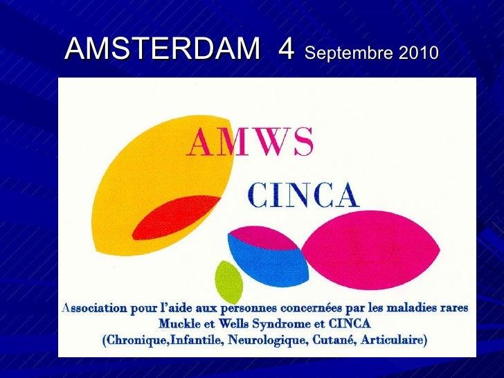 AMSTERDAM  4  Septembre 2010